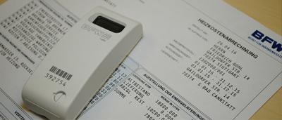 Heizkostenverteiler vor Heizkostenabrechnung